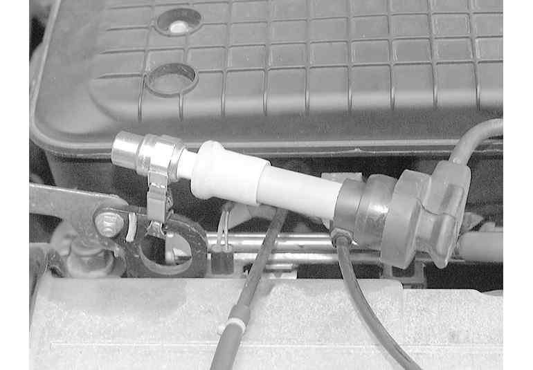 Secondary Spark Test on oscilloscope spark plugs, fouled spark plugs, diagnostic spark plugs, honda spark plugs, good spark plugs, reading spark plugs, general motors spark plugs, testing spark plugs,
