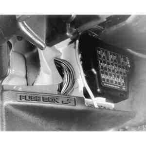location mazda 929 fuse box #14